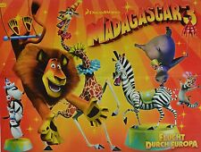 MADAGASCAR 3 - A2 Poster (XL - 42 x 55 cm) - Film Flucht durch Europa NEU