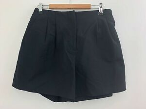 NWT COUNTRY ROAD Black Shorts with Elasticated Back sz 8 Ladies [ls