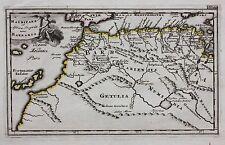 ORIGINALE Antico Mappa Nord Africa, Marocco, Isole Canarie, Cluver c.1697
