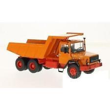 Premium Classixxs Magirus 290 D Dump Truck - Orange - 1:43