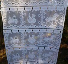 Chevaux équestre Silhouette Cerise Rose 66x72 Ready Made Pencil Pleat Curtains