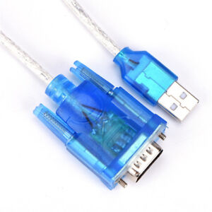 USB To RS232 Serial Port 9 Pin DB9 Cable Serial COM Port Adapter Convertor.TM