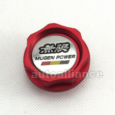 Red Engine Oil Filler Cap Fuel Intake Cover Mugen Power for Honda Acura Civic