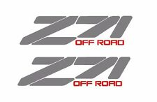 2 Z71 Off Road sticker decal Chevy Silverado GMC Sierra truck C6