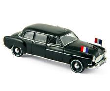 Limousines miniatures noirs 1:43
