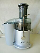 BREVILLE JUICER JUICE FOUNTAIN JE98LX 850 WATTS JUICER WORKS GREAT GREAT CONDITI