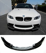 Carbon Fiber Front Bumper Lip Spoiler Bodykit for 2007-2013 BMW M3 E92 E93