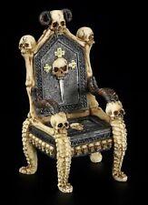 Kleiner Totenkopf Thron - Fantasy Gothic Dekoration