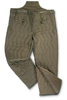 NEW GERMAN GI ARMY MILITARY SURPLUS COLD WEATHER PANT LINERS OLIVE DRAB L/XL
