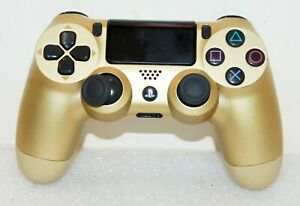Genuine OEM Sony PlayStation 4 PS4 Controller Gold CUH-ZCT2U Parts ONLY