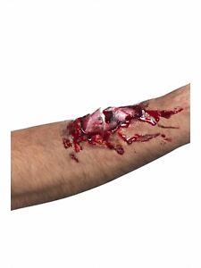 Broken Bone Halloween Fake Latex Scar Fancy Dress Zombie Special Effects Make Up