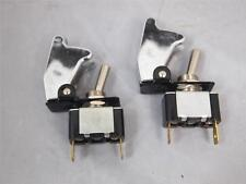 2x CHROME SPST Toggle Switch On/Off High Quality 12V 20A Billet Car truck SUV