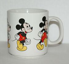 Mickey Mouse Mug Marching Walking Dancing Vintage Coffee Cup Korea