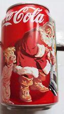 Lotto di ben 9 lattine vuote di Coca Cola da collezione