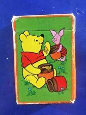 Vintage Hallmark Winnie The Pooh Miniature Playing Cards Piglet Honey Pot