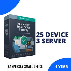 Kaspersky Small Office Security Antivirus 2021 Global | 25 Device 3 File Server