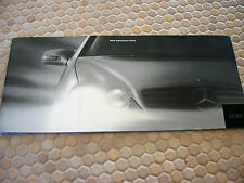 MERCEDES OFFICIAL BENZ CL 500 PRESTIGE BROCHURE 2000 USA EDITION LARGE USA Ed.