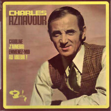 "Charles Aznavour Caroline 7"" EP Vinyl Schallplatte 48911"