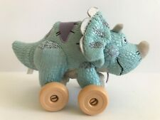 "Disney Pixar Toy Story 3 Trixie 9.5"" Plush Dinosaur Pull Toy"