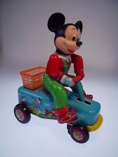 "Gscom ""Mickey Mouse mano Car"" Modern Toys japón, 19cm, muy bien/very good"