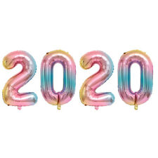 2020 Happy New Year Number  Foil Balloons Eve Party Decor Merry Christmas 30Inch