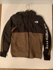 Men's The North Face Train N Go Logo Jacket Size L Green Hoodie