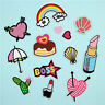 Fashion Embroidered Fabric Applique Sew/Iron on Patch Badge Dress Bag Craft DIY