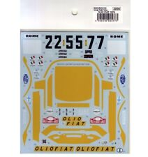 Studio27 SDHSC010 1:24 FIAT124 OLIO FIAT 1976 - Spare decal for HSC010