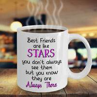 Best Friend Mug BFF Mug Best Friends are Like Star Funny Coffee Cup Gift for you