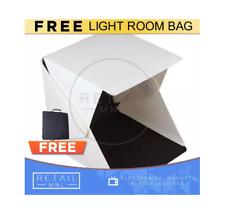 Retailmnl Light Room Photo Studio 40cm Photography LED Lighting Tent Backdrop