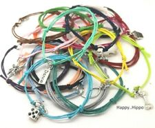 Variety Of Charm Cord Friendship Wish Bracelet Love Dance Dice Fairy Cake Friend