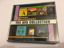 THE AVA COLLECTION (Elmer Bernstein) OOP 2014 Intrada Ltd Soundtrack OST 3CD NM