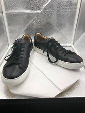 Mr B's Shoes Black Leather Sneaker For Aldo Size 10