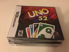 Uno 52 (Nintendo DS, 2006)DS NEW!