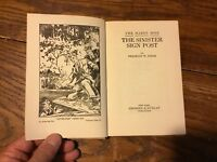 The Hardy Boys: The Sinister Sign post 15 by Franklin W. Dixon (1936, Hardcover)