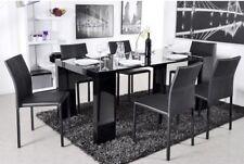 Tavolo consolle da pranzo allungabile soggiorno cucina 3 mt nero lucido laccato