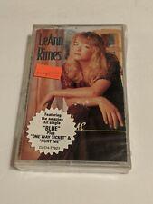 Brand New & Sealed LEANN RIMES Blue! Country Music Cassette!