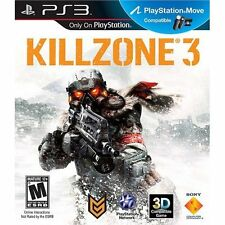 New Killzone 3 PS3 Videogame Software Very Good PlayStation 3 4Z