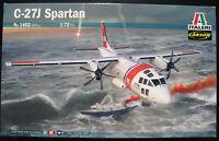 ITALERI 1402 - Alenia C27J Spartan - 1:72 - Flugzeug Modellbausatz Airplane Kit