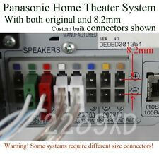 4c speaker cable/wire 8.2mm 37ft made for select Panasonic home theater system