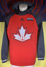 Men's Adidas ClimaWarm 2016 World Cup Team Canada Hockey Reflective Hoodie Small