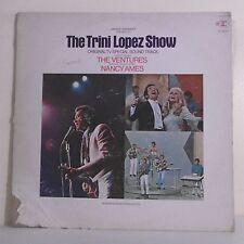 """33T THE TRINI LOPEZ SHOW Disque LP 12"""" THE VENTURES -NANCY AMES -REPRISE R. 6361"""