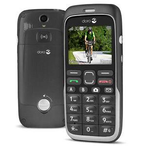 Doro  520X Easy Black *Unlocked*Camera Emergency Button *Excellent  Condition*