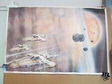 "Vintage 1977 ""Space War"" Sci-Fi Poster"