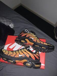 Nike Tn Dark Sunset Size US 12, Airmax Plus