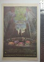 Vintage Teenage Mutant Ninja Turtles Movie 1990 RARE Print Advertisement