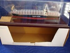 Yang Ming Cargo Shipping Container Ship 38cm or 15 inches long. 1/700 scale