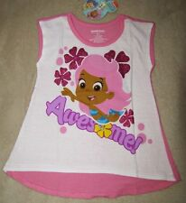BUBBLE GUPPIES *Awesome!* Pnk A-Line S/S Tee T-Shirt Toddler sz 3T