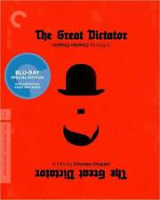 CRITERION COLLECTION: THE GREAT DICTATOR (B&W) - BLU RAY - Region A - Sealed
