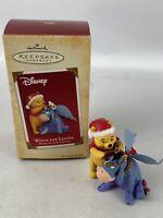 Hallmark Keepsake Ornament Disney Wings For Eeyore Winnie The Pooh Collection